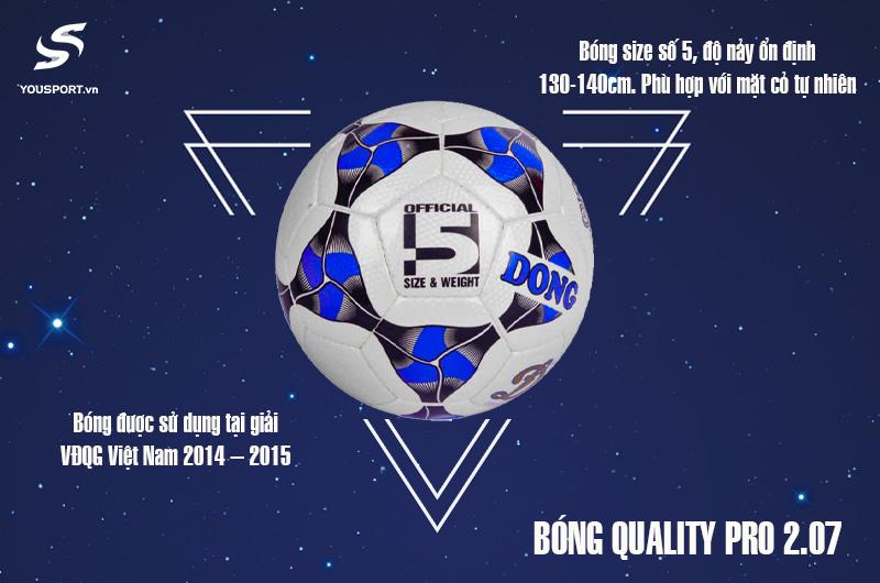 Quả Bóng Quality Pro UHV 2.07